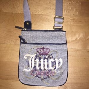 Juicy Couture Crossbody Velour Bag